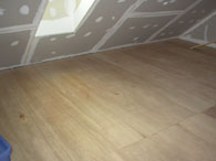 Attic, after
