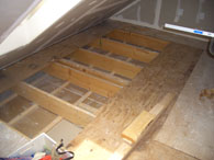 Attic, before